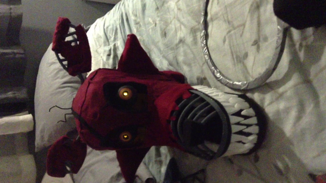 Nightmare Foxy Costume Head