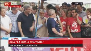 Discurso Lula Da Silva antes de ser detenido