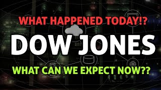 Dow jones today! - Markets falling again? - what does this mean for us?