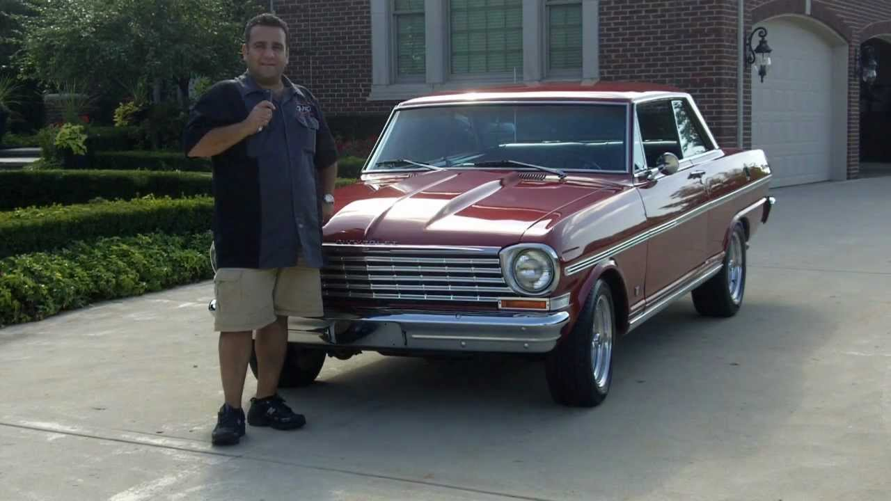 1963 Chevy Nova SS Classic Muscle Car for Sale in MI Vanguard ...
