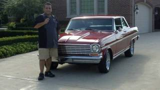 1963 Chevy Nova SS Classic Muscle Car for Sale in MI Vanguard Motor Sales