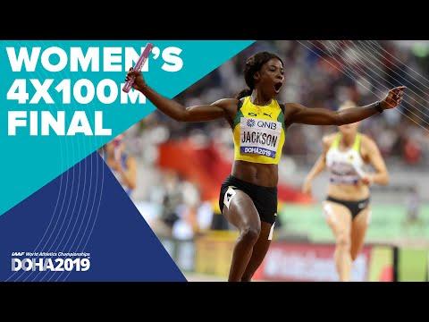Women's 4x100m Relay Final   World Athletics Championships Doha 2019