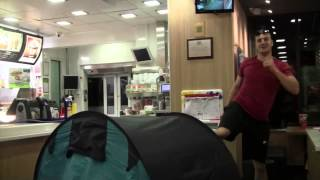 Lee Marshall Fast food Camping funny prank in macdonalds