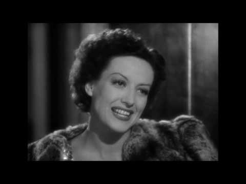 Joan Crawford Classy Exit  from