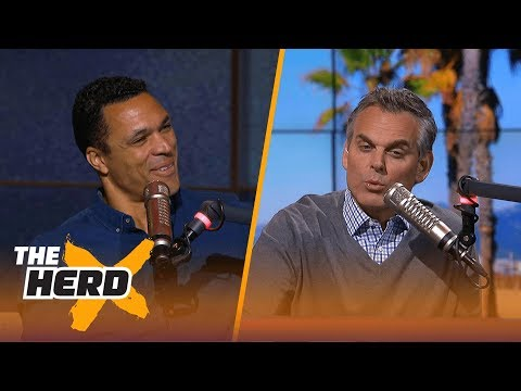 Tony Gonzalez talks Dallas Cowboys, Larry Fitzgerald and more ahead of 2017-18 NFL season | THE HERD