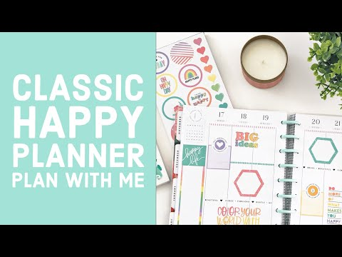 Plan With Me // Classic Happy Planner // February 17-23, 2020