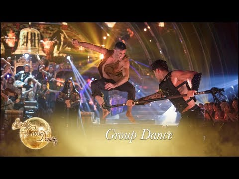 Epic Pro Group Dance to 'Run Boy Run' by Woodkid - Strictly 2017
