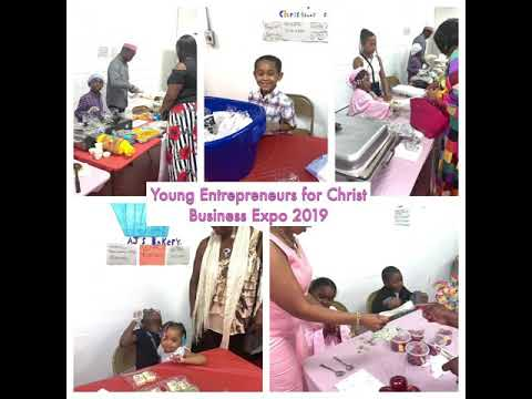 Blessed Community Youth Services Young Entrepreneurs for Christ Business ExpoProgram