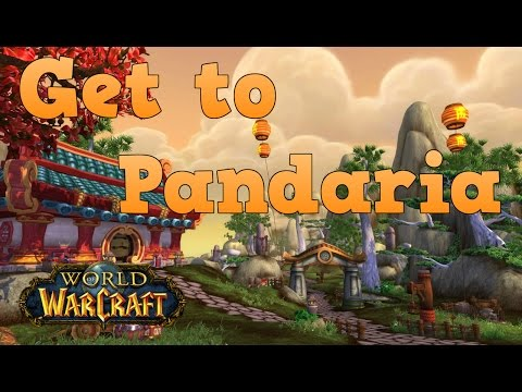 How To Get To Pandaria From Orgrimmar & Stormwind