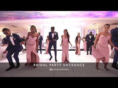 Tanzanian wedding - Bridal Party Entrance in London UK