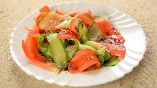 Салат из японской кухни