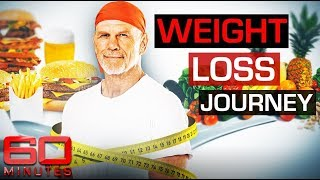Former Aussie rugby player Peter Fitzsimons sheds 40 kilograms | 60 Minutes Australia