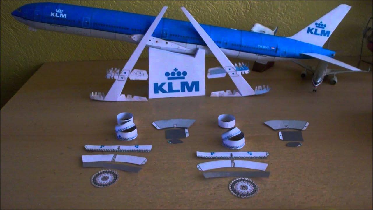Papercraft KLM B777-300ER Papercraft