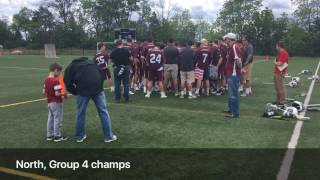 Ridgewood celebrates North, Group 4 title thumbnail