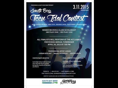 Freedom4U South Bay Teen Idol Vocal Contest 2015