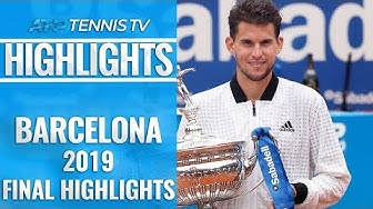 Dominic Thiem Wins First Barcelona Title! | Barcelona 2019 Final Highlights
