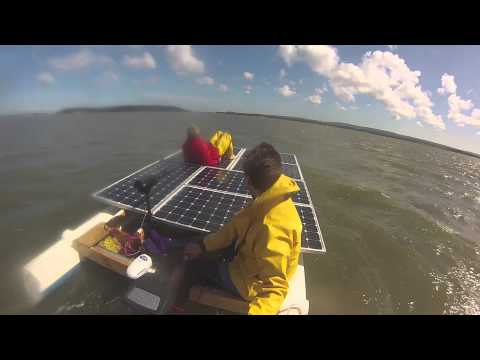 AKT Solar Channel Challenge - to be the first directly solar powered boat to cross the Channel