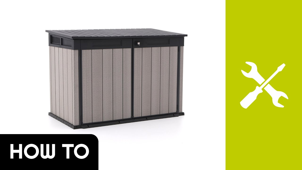 Ongekend How to: Montage Keter Grande Store opbergbox | Kees Smit SM-49