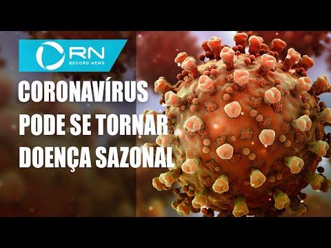 Estudo revela que coronavírus pode virar doença sazonal