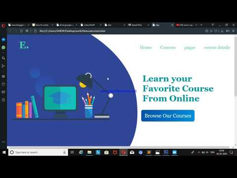 Web Design Tutorial In Photoshop,  HTML & CSS Website.