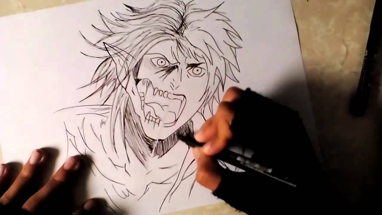 Eren jaeger drawing - photo#52