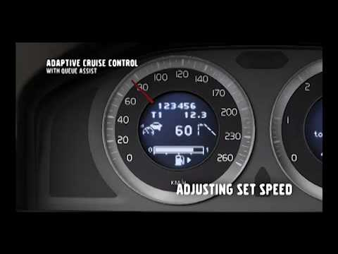 New Volvo S60 - Adaptive Cruise Control