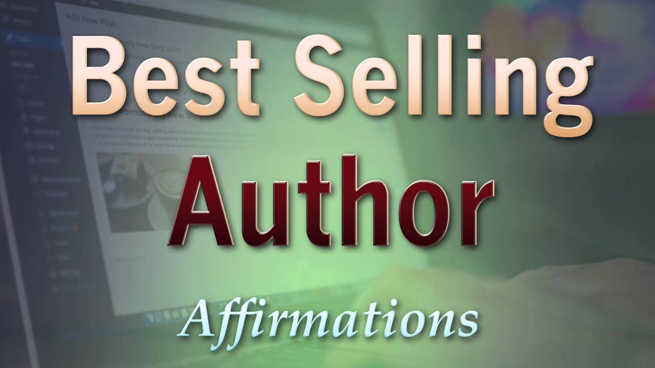 Selling Author - Writer In