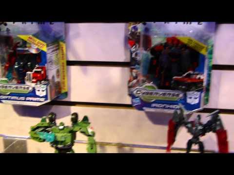 Transformers Prime Cyberverse 1 - Toy Fair 2012