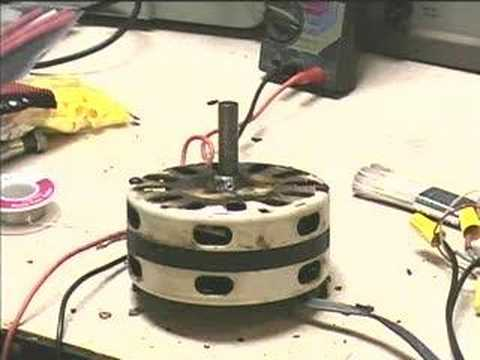 Berns Air King Box Fan repaired motor demonstration - YouTube