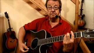 Be My Baby - Guitar Lesson - Acoustic Cover - The Ronettes - Phil Spector - (By Pete Winnett)