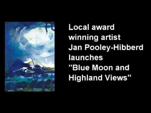 Jan Pooley-Hibberd's 'BLUE MOON' exhibition extends to BespokeArt Gallery in Bowral.