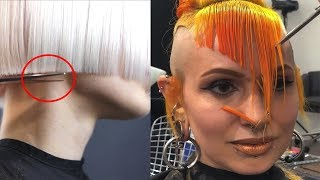 Most Satisfying Haircuts!! | Best Makeup Tutorials 2018 | Woah Beauty