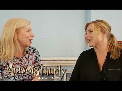 Samantha Womack Interview - The Addams Family UK Tour 2017