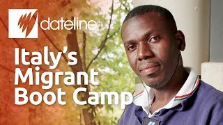 Inside Italy's migrant boot camp for integration