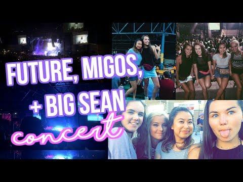 VLOG: FUTURE, MIGOS, + BIG SEAN CONCERT @ SUMMERFEST 2017!