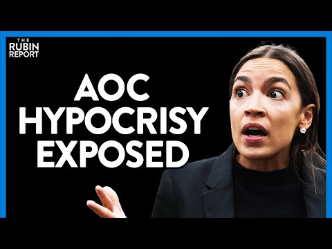 AOC Melts Down When Asked Why She Isn't Talking About Kids in Cages | DIRECT MESSAGE | Rubin Re