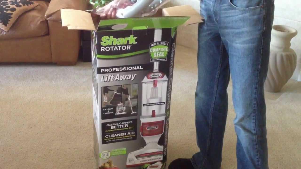 Shark Rotator Navigator Pro Lift Away Unboxing And First