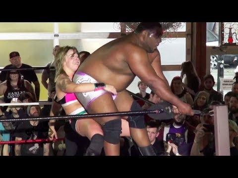 [Free Match] Keith Lee vs. Kimber Lee (Abbey Laith) | Beyond Wrestling - NXT, Intergender, Mixed