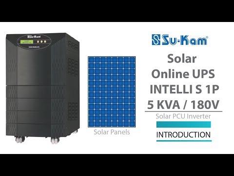 Solar Online UPS 5 KVA / 180V Introduction Solar PCU Inverter