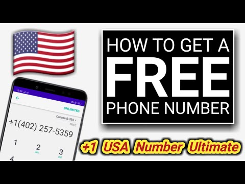 How To Get A FREE (+1) US Number 2020 | Free Verification Numbers US | TechBanglaHelp