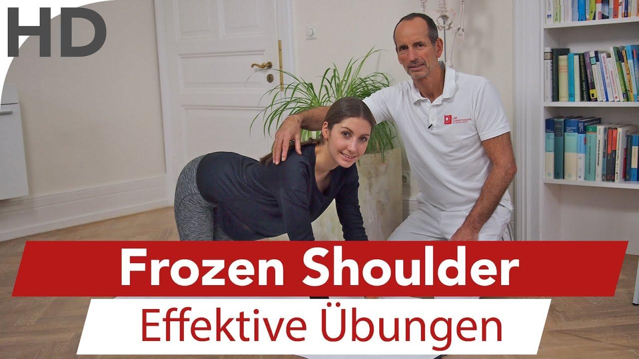 Frozen Shoulder Bei der sogenannten Frozen Shoulder ist von jetzt auf gleich kaum noch Beweglichkeit im Schultergelenk möglich Hier friert unser schlauer Körper geradezu die gesamte Schulterbeweglichkeit ein