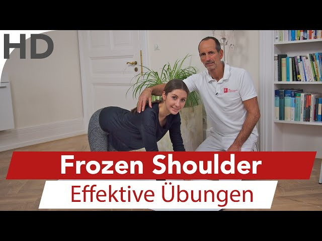 Frozen Shoulder, Schulterschmerzen, Schultergelenkschmerzen, Schulterübungen // Übungen