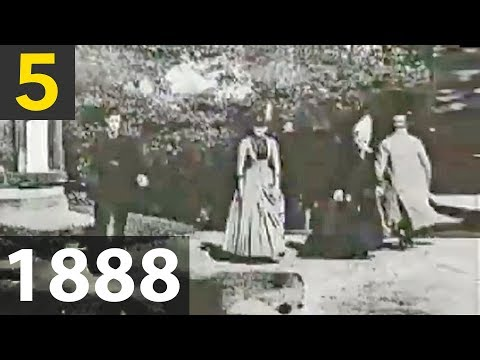 Top 5 oldest Videos Ever Recorded - 1888?!