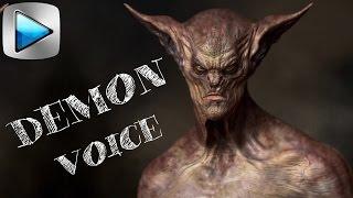ГОЛОС ДЕМОНА. Как изменить голос. Аудиоэффекты в Сони Вегас . Уроки видеомонтажа Vegas Pro