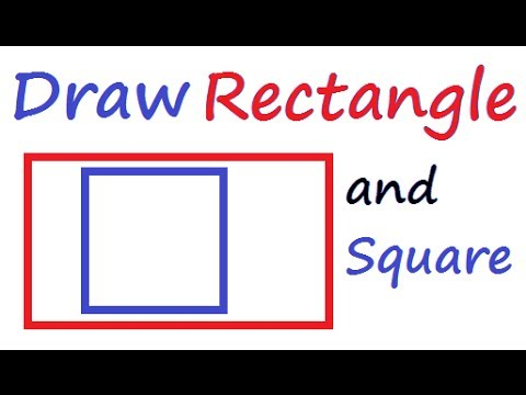 MSW Logo - Draw square and Rectange using Logo