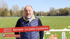 #55, Bernard au Stade Coubertin