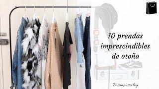 10 prendas IMPRESCINDIBLES de OTOÑO | PASO A PASO