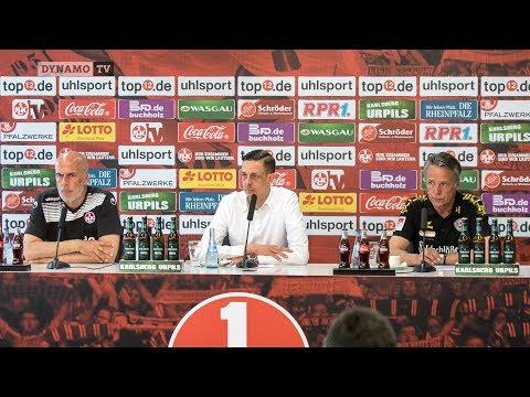 31. Spieltag | FCK - SGD | Pressekonferenz nach dem Spiel