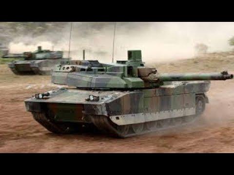 프랑스 육군 르끌레르 주력전차 데모 French Army Leclerc MBT Tanks Demo