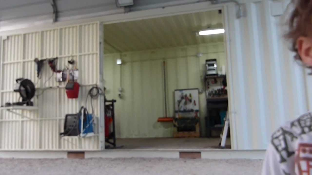 shipping containers home work shop part 2 - youtube